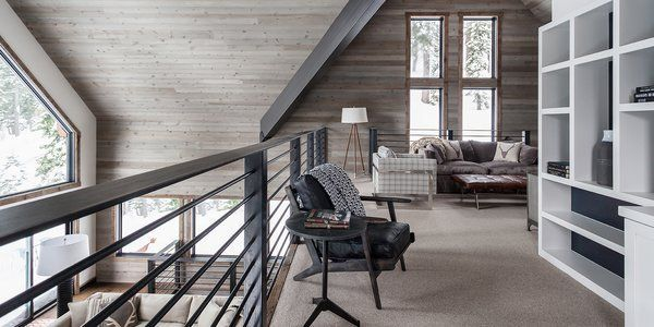In This A-Frame Cabin Makeover, Simplicity Is Key#aframe #cabin #key #makeover #simplicity
