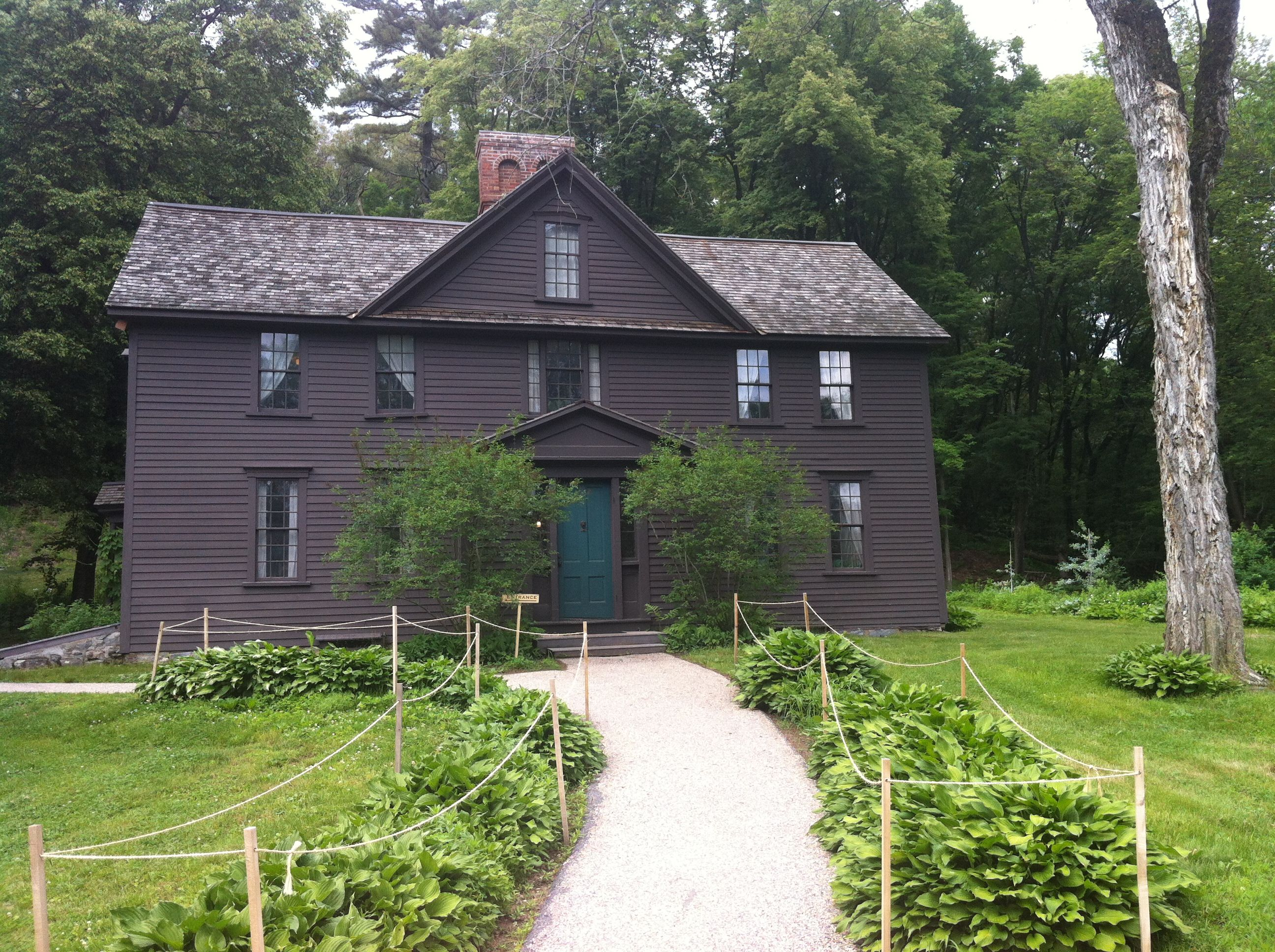 Louisa May Alcott Orchard House 1857 Concord Ma House