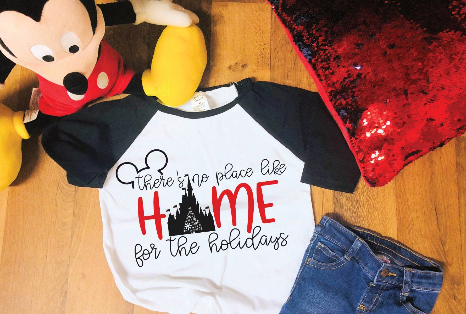 There's No Place Like Home Disney SVG by MrsCraftQueen on