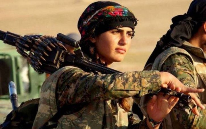 Killed In Action Nineteen Year Old Female Ypj Kurdish Fighter
