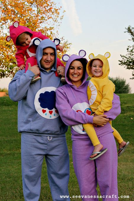 Care Bears 25 DIY Halloween Costumes Guaranteed To Keep You Warm - creative halloween costumes ideas