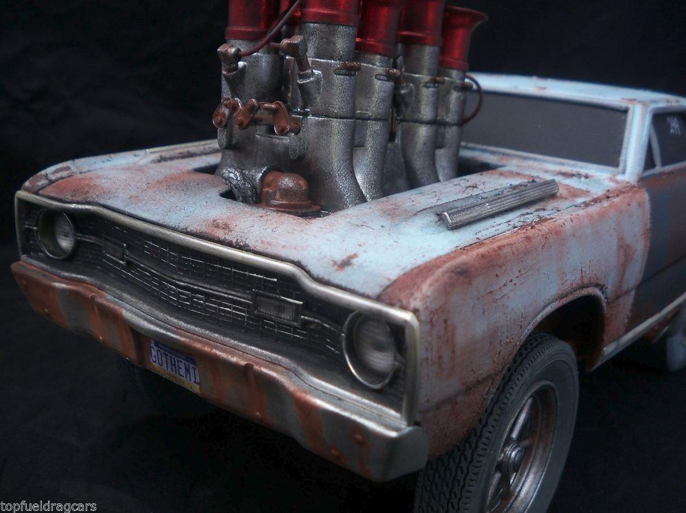Dodge Hemi Dart Muscle Machine Barn Find Weathered Unrestored 1/18 ...