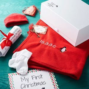 Baby S First Christmas Eve Box Babies First Christmas Christmas Eve Box Baby Christmas Gifts