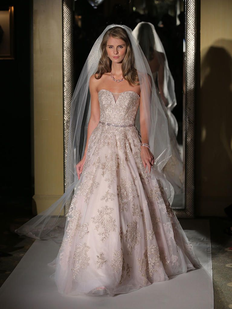 Oleg Cassini Fall 2017: Perfect for Ball Gown-Loving Brides   Ball ...