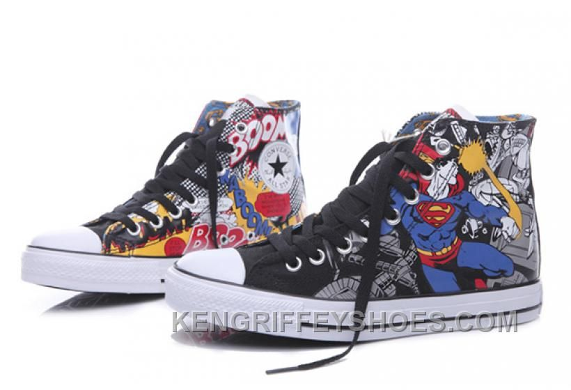 7a869088f9a2 Converse Shoes Black Batman V Superman DC Comics Classic Canvas High.  https   www.kengriffeyshoes.com converse-chuck-taylor-