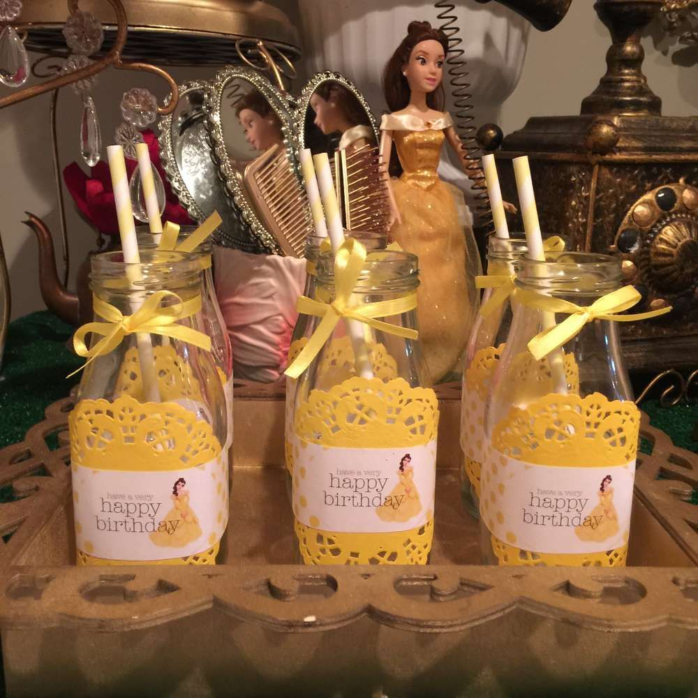 Belle / Beauty and the Beast Birthday Party Ideas | Photo 6 of 13