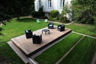 Rolling Deck La Couverture Terrasse Mobile De Piscine Et De Spa