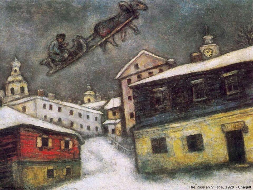 Risultati immagini per russian village chagall