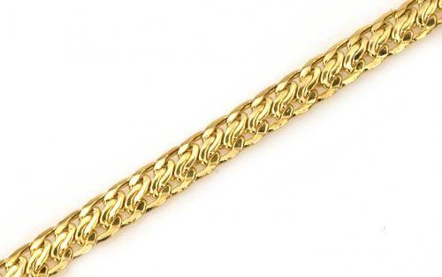 c694b67f7 Dámsky náramok lisovaný zo žltého zlata | Zlaté náramky