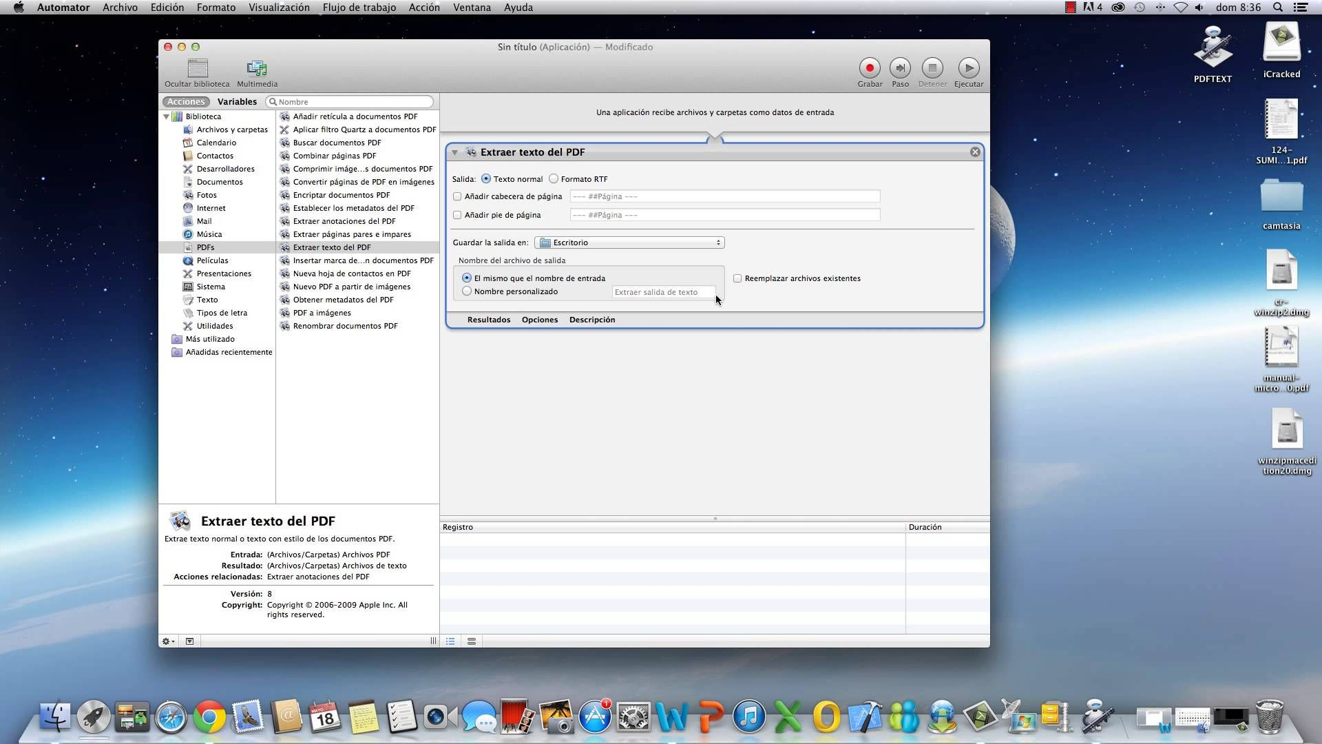 Convertir un pdf a word para mac.mp4 Mac, Textos
