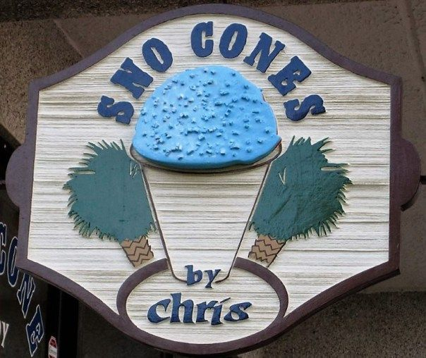 Sno Cones By Chris  Cash only? Open every day from 1. to 8  Mid-May to Mid-October Come see the Titanic, Statue of Liberty, Word Trade Center & other world famous  icons made entirely out of Legos. $3 8oz /$4 12 oz /$5 16oz
