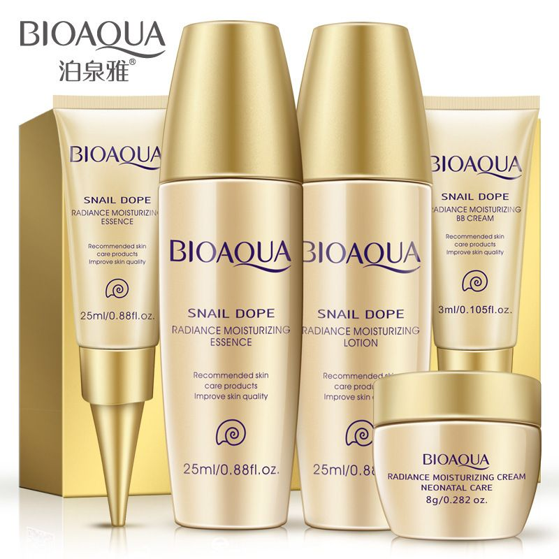 9e2454109afb BIOAQUA Face Care Cream Skin Care Set Travel Anti-Aging Whitening ...