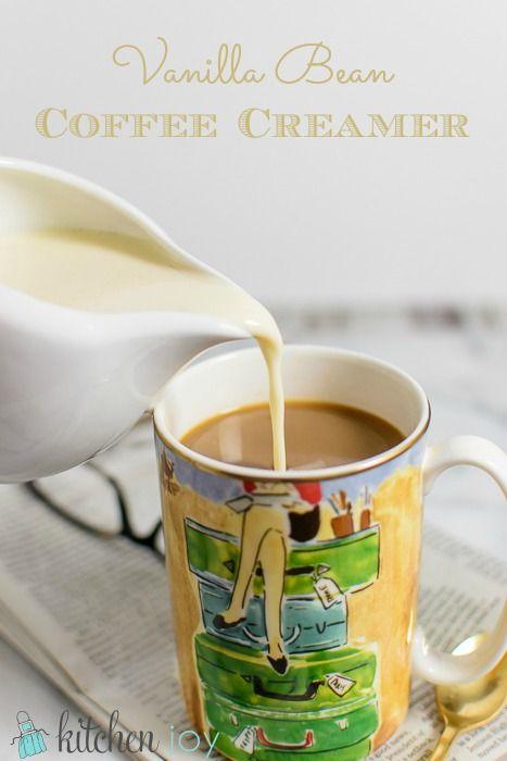 Homemade Flavored Coffee Creamer Recipe Coffee Creamer