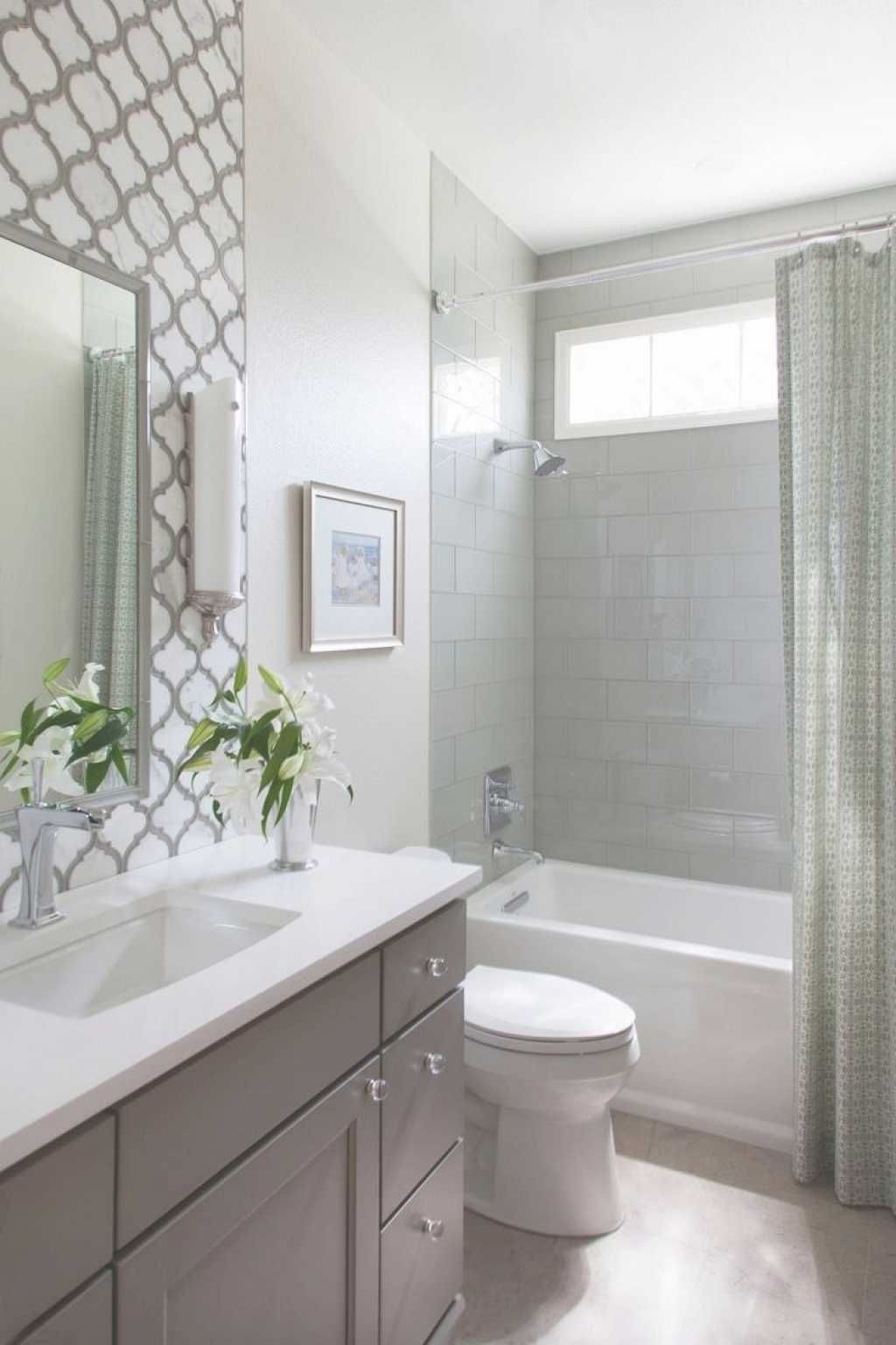 Nice 111 Brilliant Small Bathroom Remodel Ideas On A ...