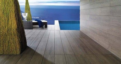 Wood Replica Porcelain Tile Contemporary Floor Tiles Dc