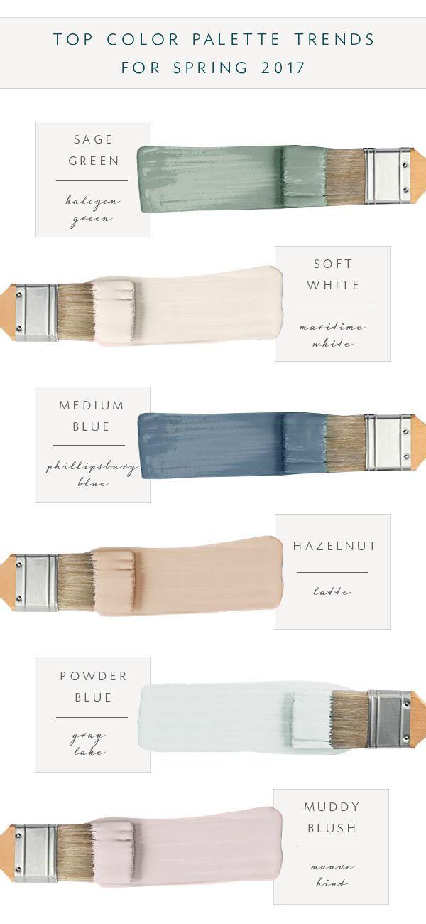 Our Top Color Palette Trends for Spring 2017   coco kelley   Bloglovin'