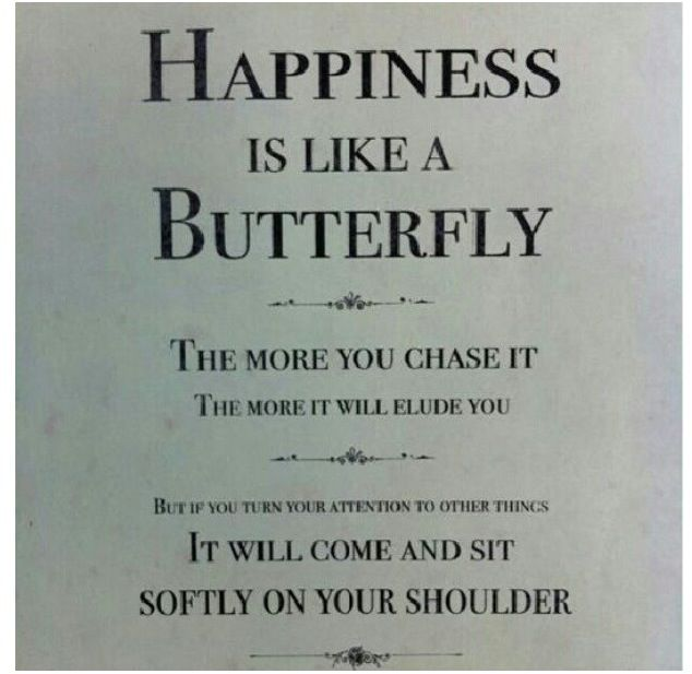 Happiness Is Like A Butterfly At Katie Britney A Quote About