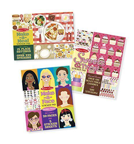 [$8.99 save 40%] Amazon #LightningDeal 92% claimed: Melissa & Doug Sticker Pads Set: Sweets and Treats Make-a-Fa... #LavaHot http://www.lavahotdeals.com/us/cheap/amazon-lightningdeal-92-claimed-melissa-doug-sticker-pads/161565?utm_source=pinterest&utm_medium=rss&utm_campaign=at_lavahotdealsus