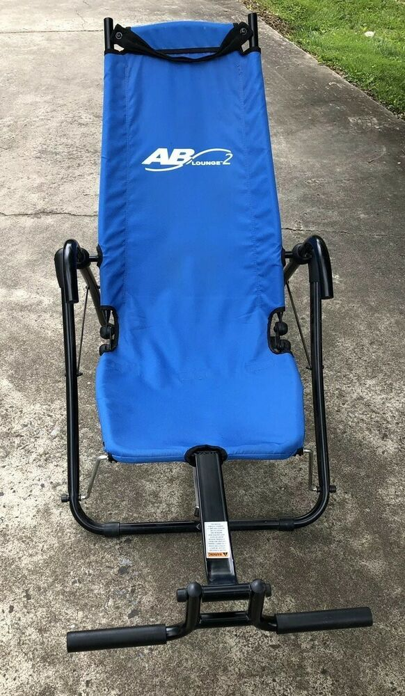 AB Lounge Abdominal Workout Fitness Exercise Blue