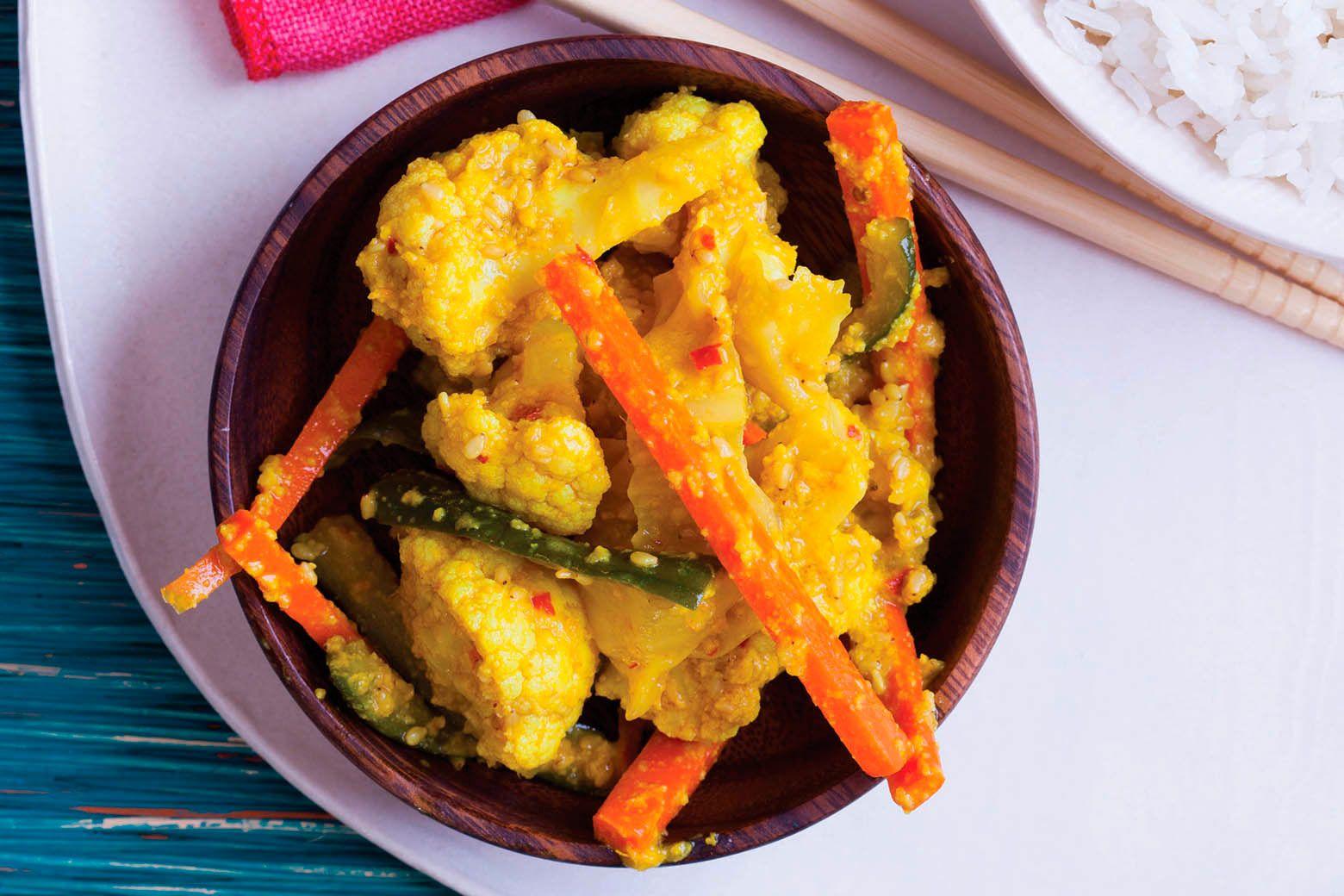 Malaysian pickled vegetables by karen solomon