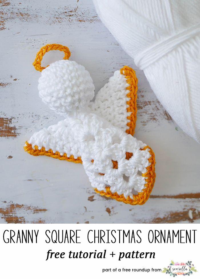The Ultimate Crochet Christmas Ornaments Roundup | Navidad, Tejido y ...