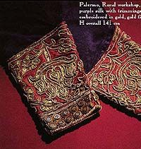 embroidered cuffs