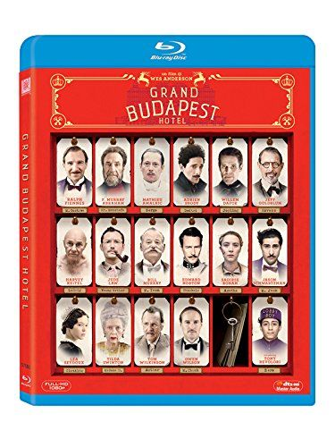 Grand Budapest Hotel: Amazon.it: Ralph Fiennes, F. Murray Abraham, Adrien Brody, Willem Dafoe, Jude Law, Bill Murray, Owen Wilson, Tilda Swi...