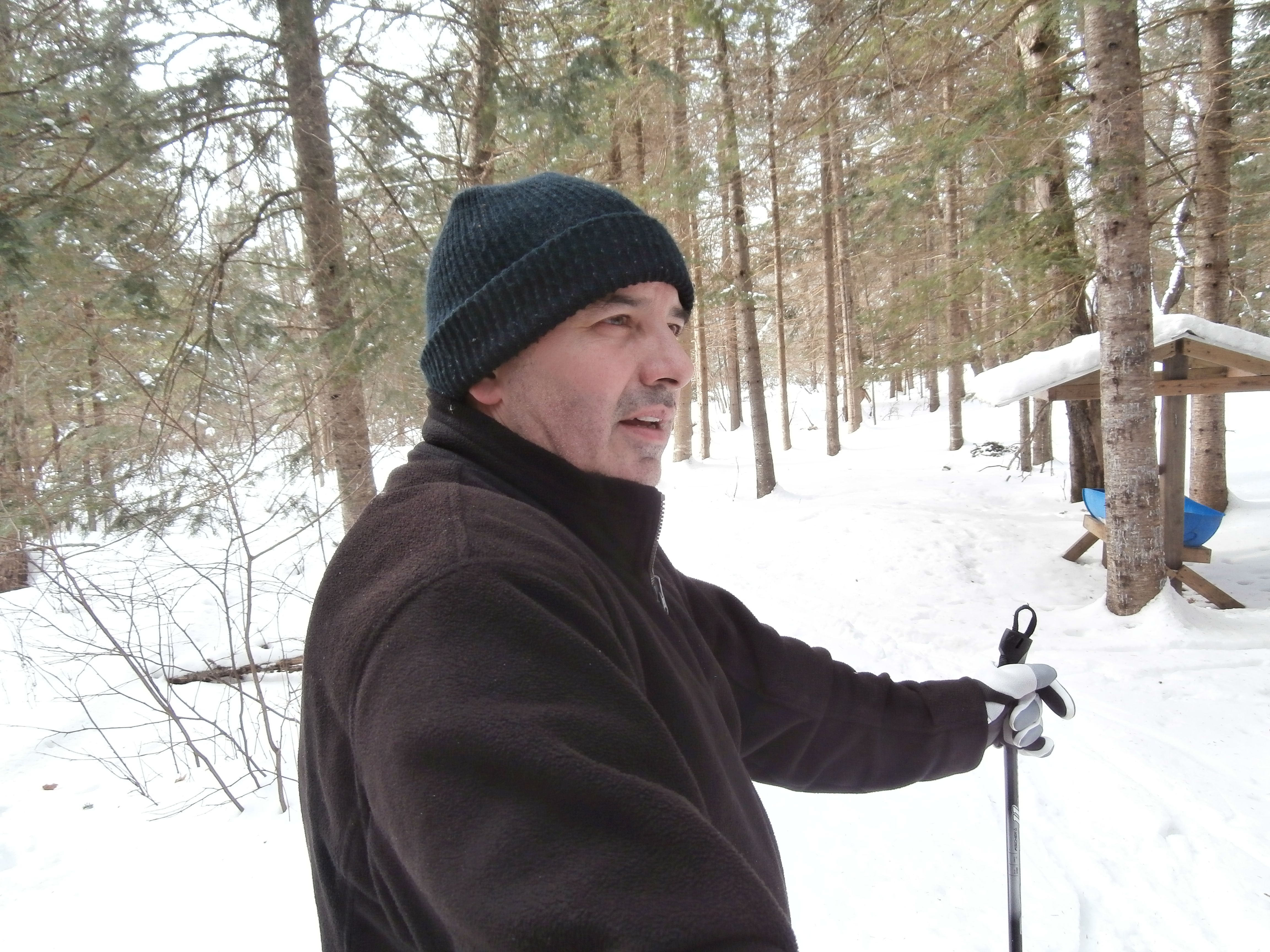 I love this trail in Emsdale, Ontario. Great little hill ...
