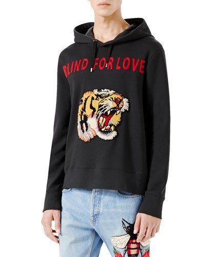 d93fc5cf7 Blind for Love Tiger Sweatshirt Black | *Neiman Marcus ...