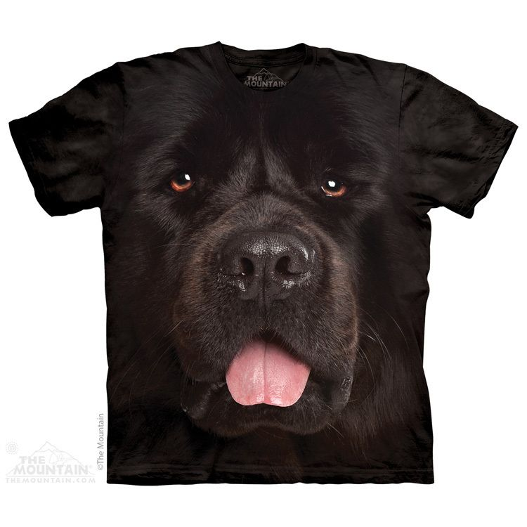 Adult Newfoundland dog t-shirt by The Mountain® - Product Code 10-3933