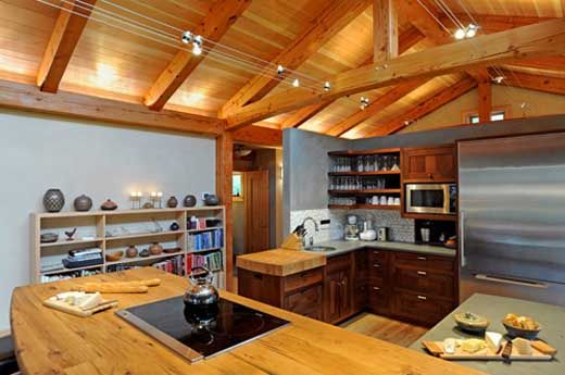 wire track lighting | House | Pinterest | Timber frame houses ...