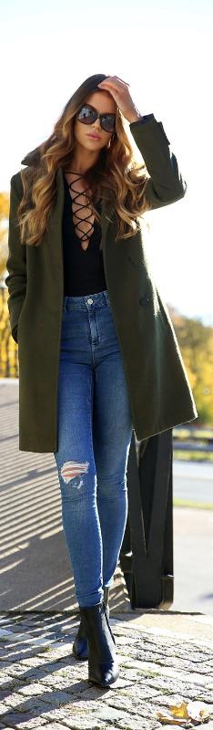 Khaki Green / Fashion by Josefin Ekstroms