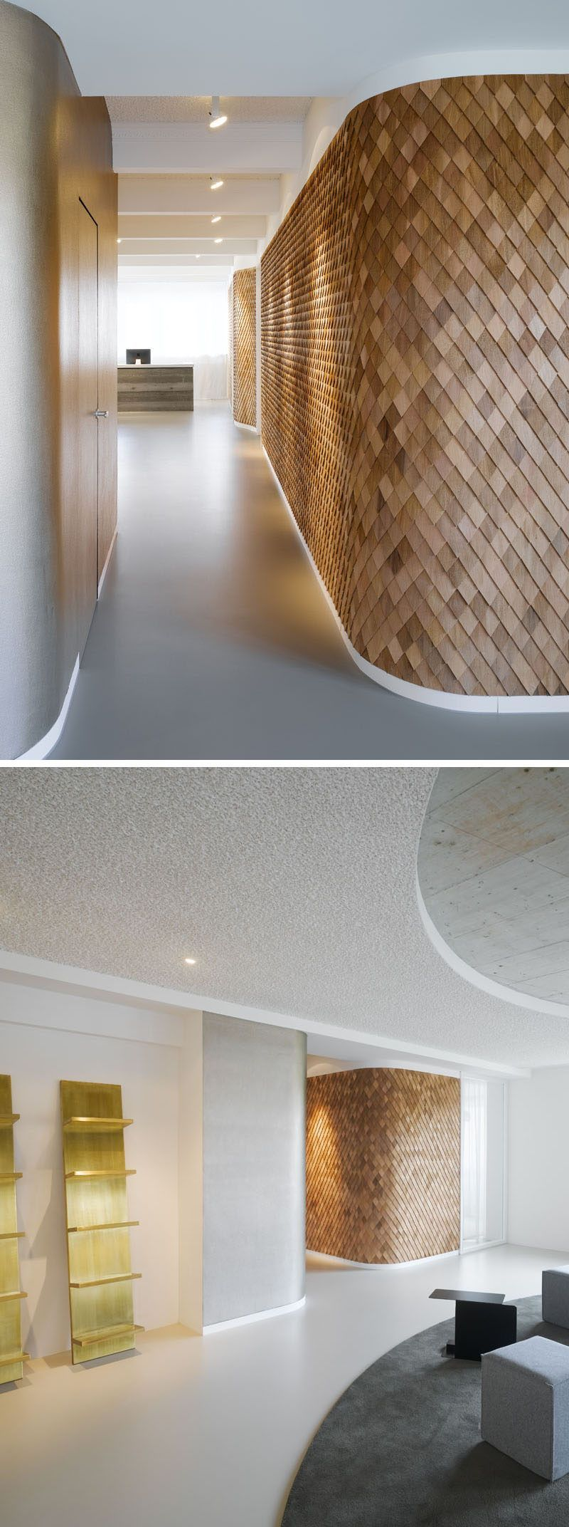 Best Using Wood Shingles To Create An Accent Wall Adds Warmth 400 x 300