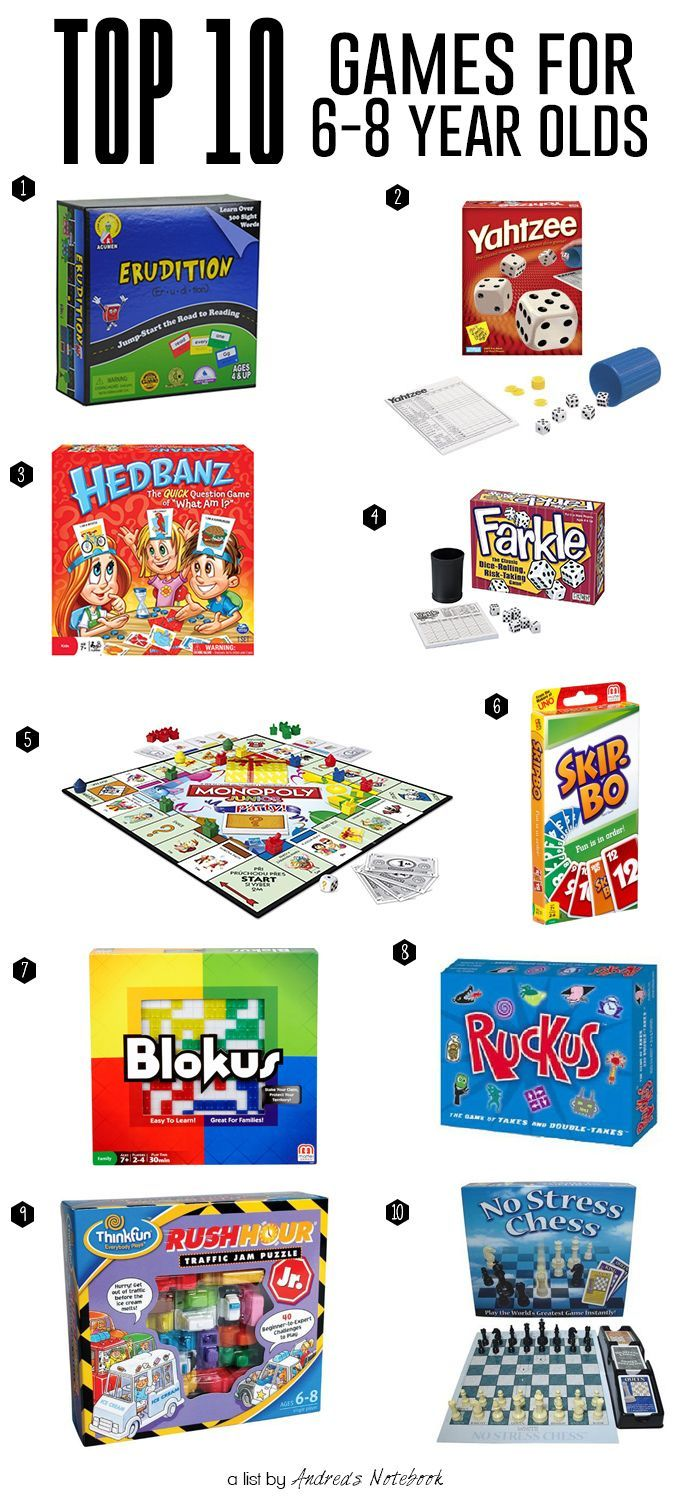 10 Best Games For 6 8 Year Olds Sleepover Games