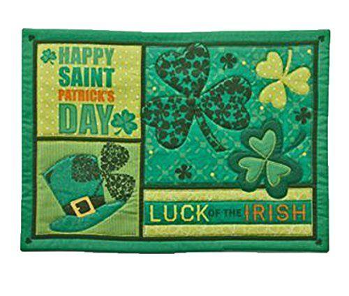 Saint Patrick S Day Festive Placemats Set Of 2 Kds Http Www Amazon Com Dp B00n1x9grq Ref Cm Sw R Pi Dp 8rm St Patricks Day Happy St Patricks Day Placemats