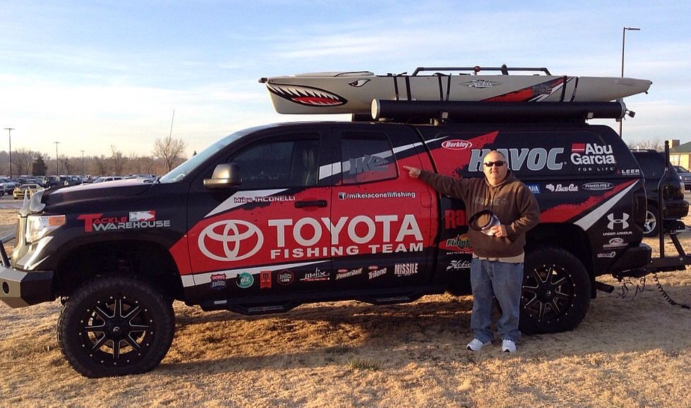 Mike Iconelli Toyota tundra, Monster trucks, Toyota
