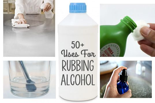 50 Aha Uses For Use Rubbing Alcohol Rubbing Alcohol Uses