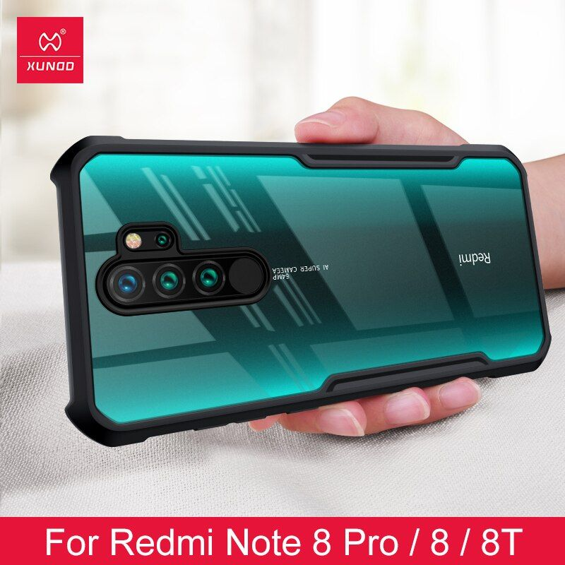 Shockproof Phone Case For Xiaomi Redmi Note 8 8pro Protective Phone Cover Xundd Transparent For Redmi Note Protective Phone Covers Phone Cover Phone Case Cover
