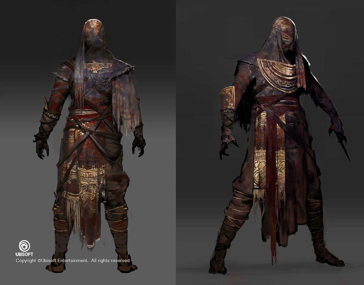 Mummy Outfit From Assassin S Creed Origins With Images Concept