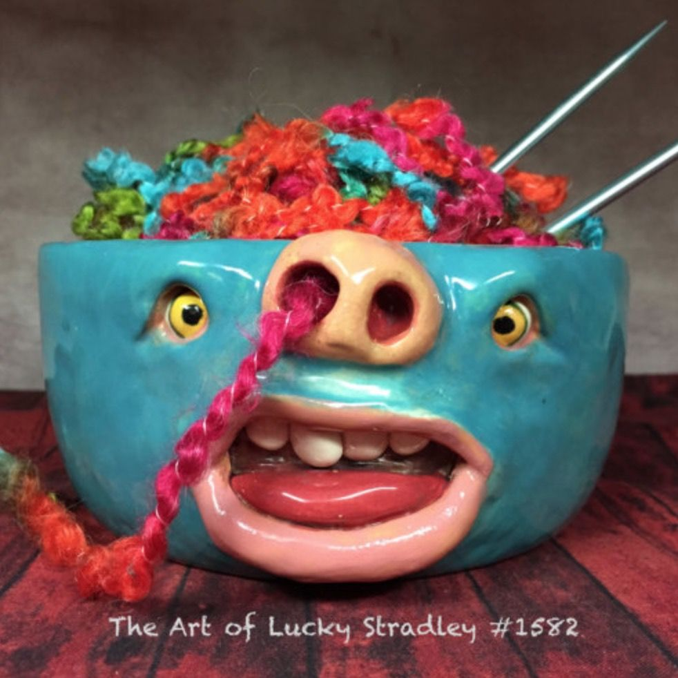 Yarn Holder Bowls Unique Handmade Etsy Designs