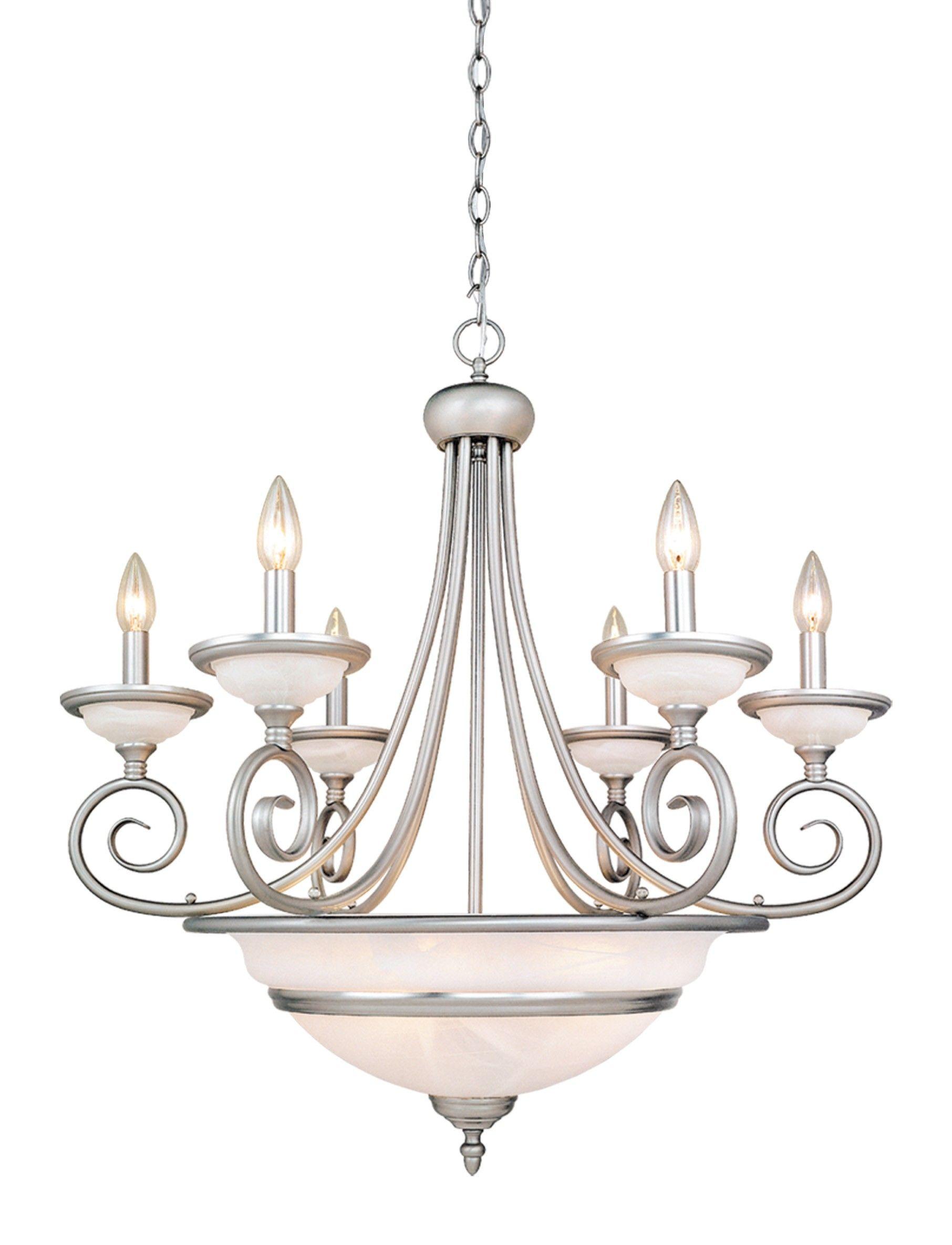 Da Vinci 11 Light Chandelier In Brushed Nickel