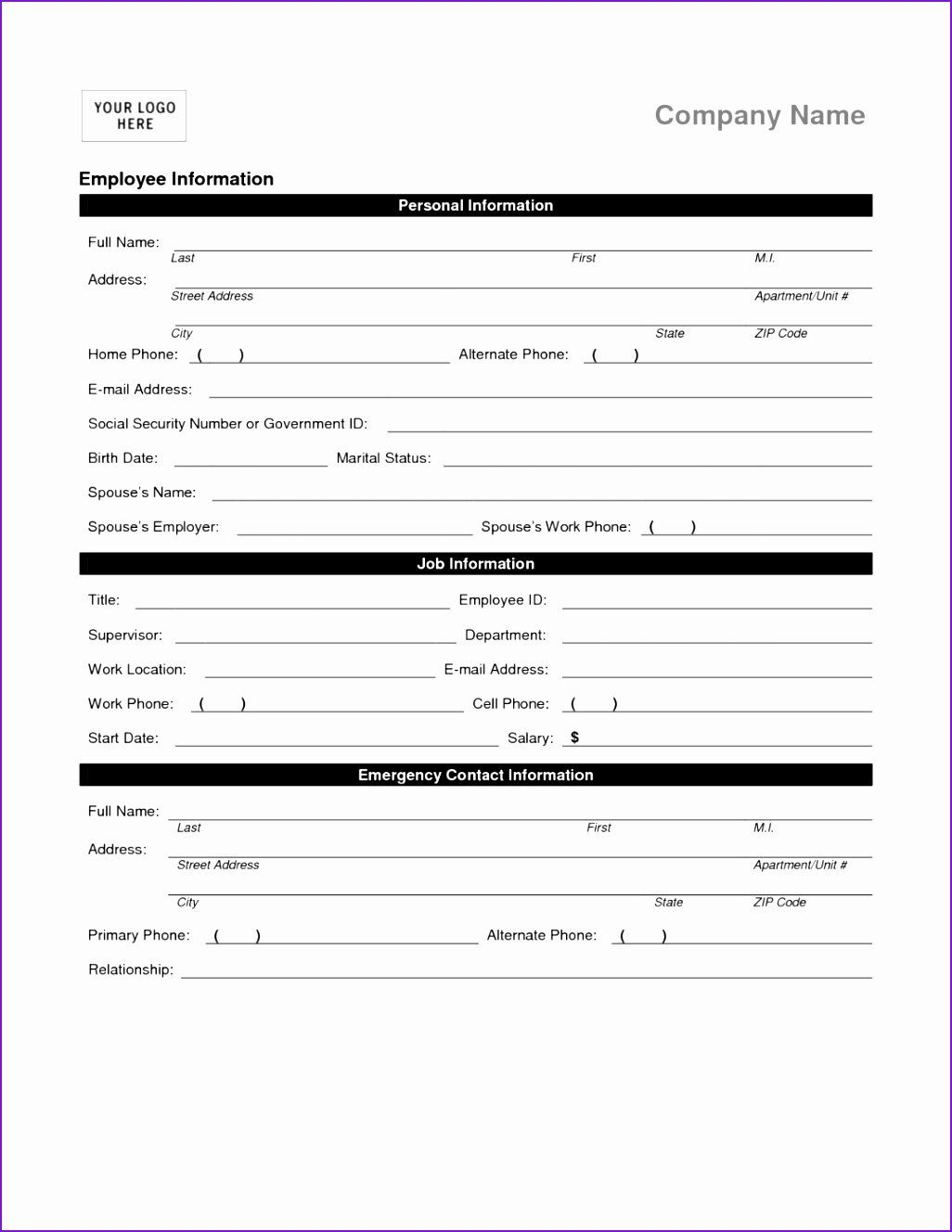 30 Free Employment Termination Forms In 2020 Employment Form