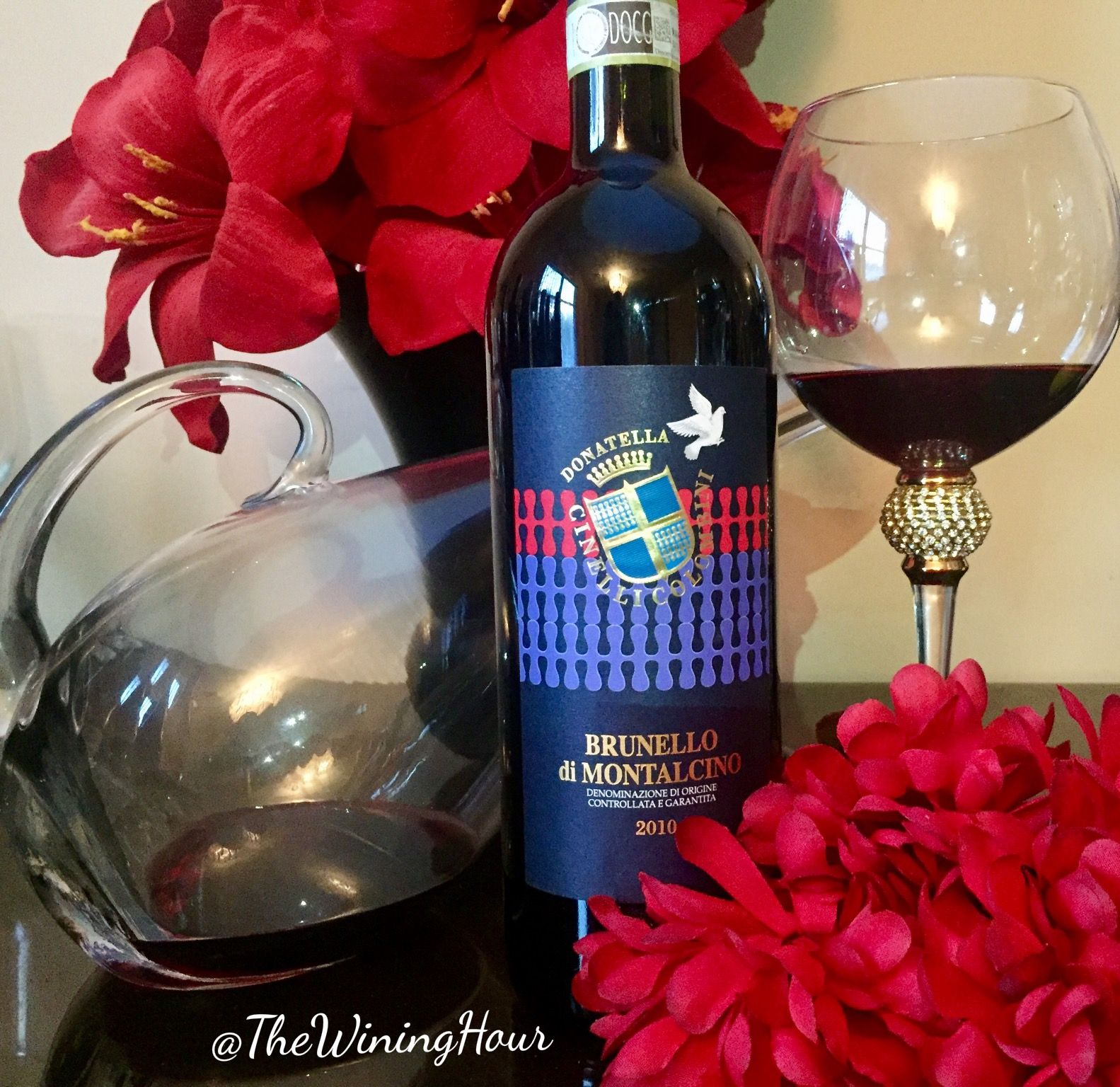 A Yummy Brunello Di Montalcino By Donatella Cinelli Colombini Wininghour Brunello Di Montalcino Different Wines Italian Wine