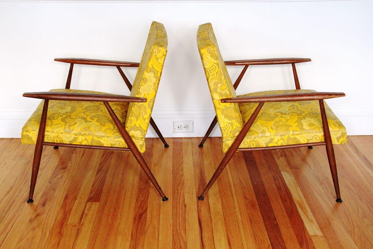 Pair of Vintage Armchairs - $300