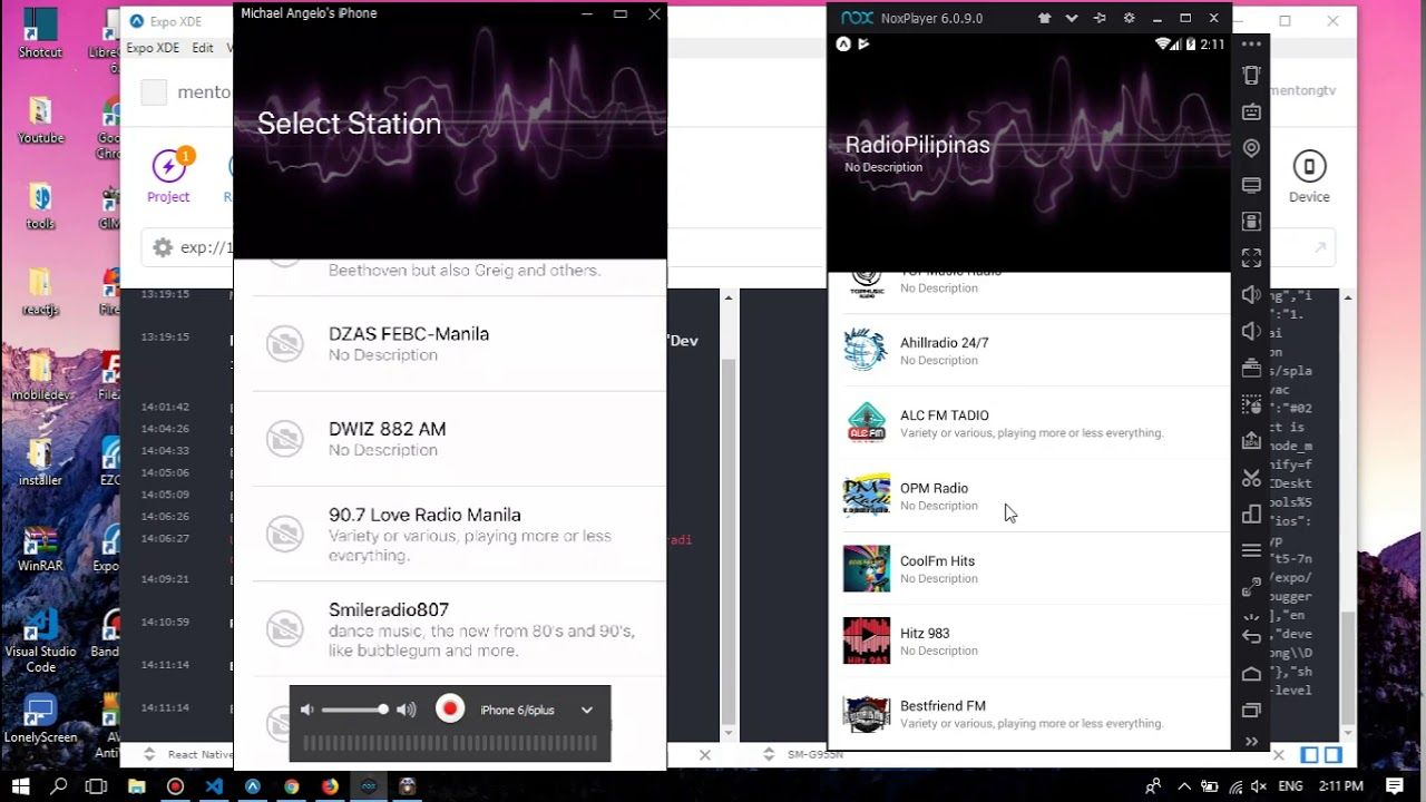 Radio Application Live Stream Android React Native + NativeBase Part