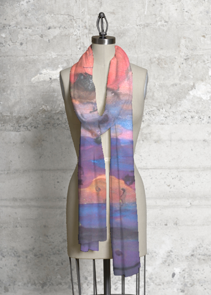 Modal Scarf - poppies modal by VIDA VIDA