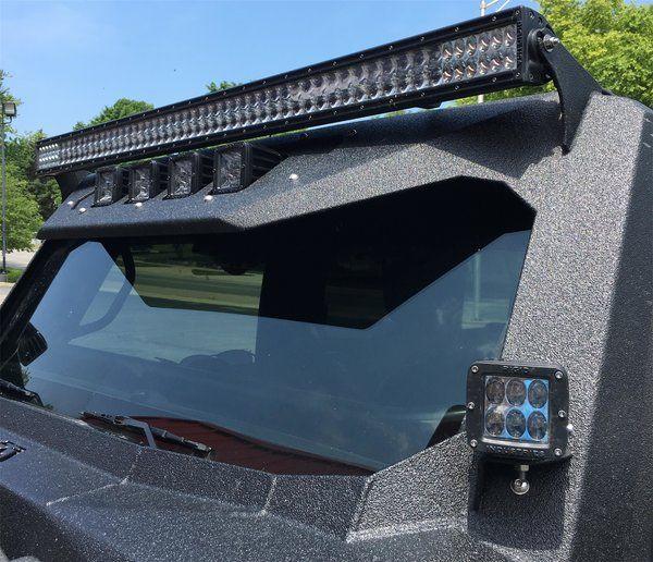 Jeep Jk Wrangler Fab Fours Vicowl 50 Quot Led Light Bar