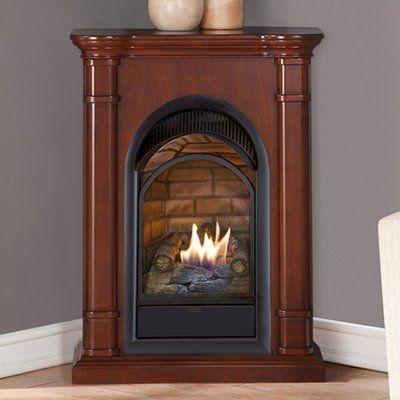 Duluth Forge Dual Fuel Ventless Natural Gas/Propane Fireplace Finish ...