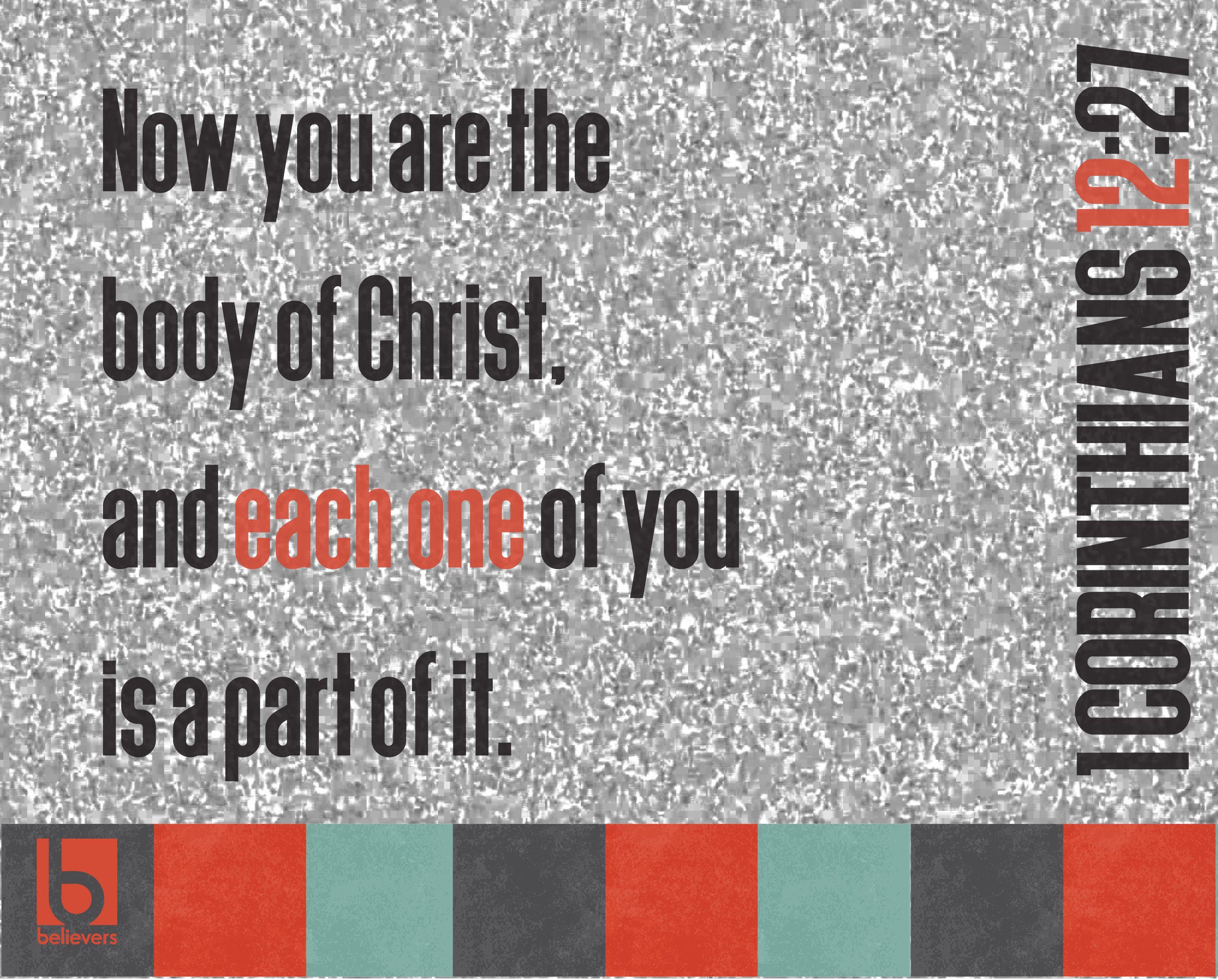 1 Corinthians 12 27