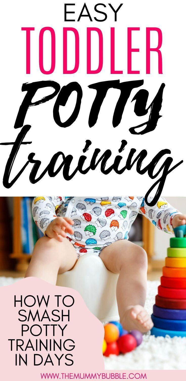 Easy toddler potty training tips